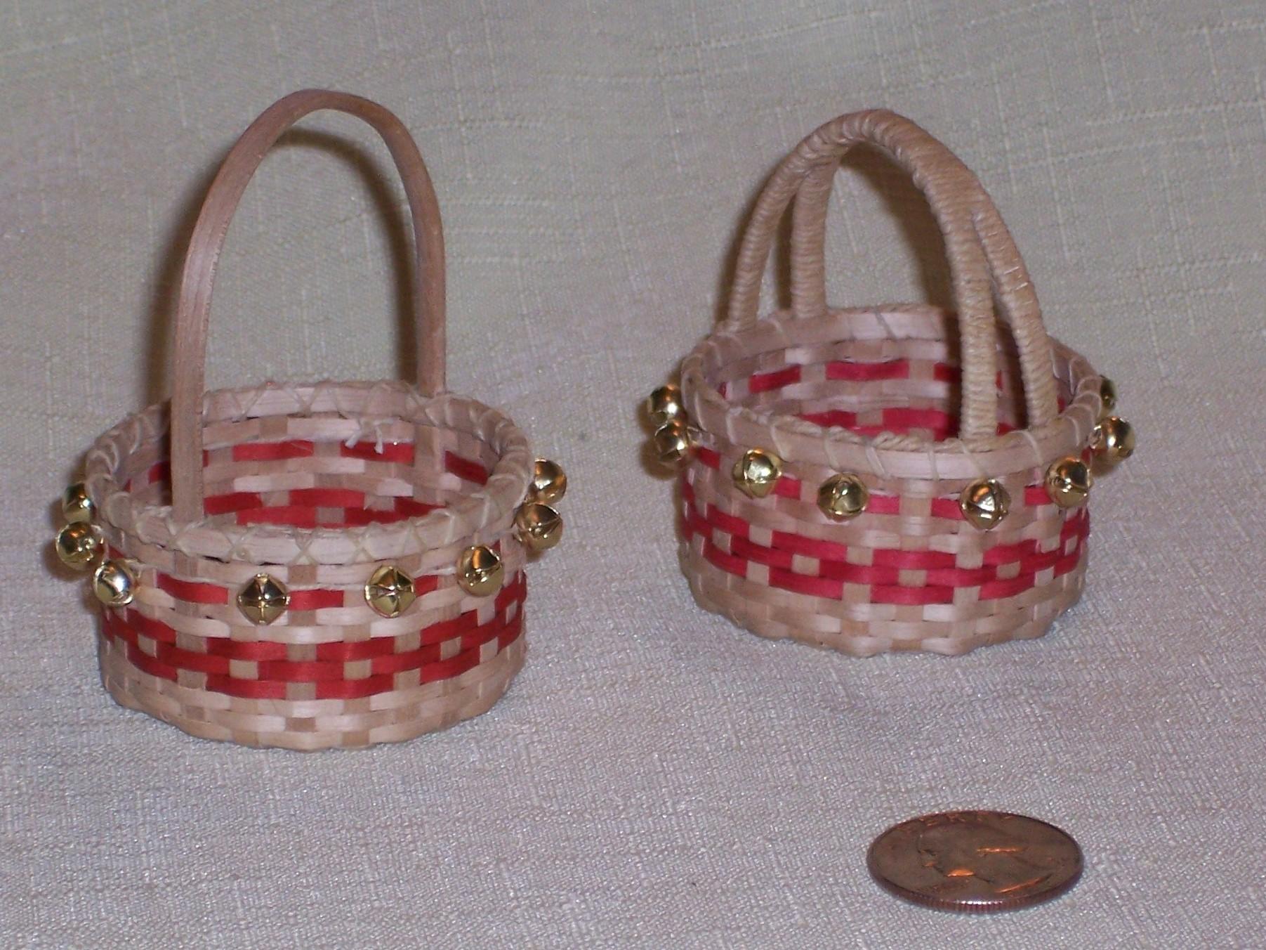Basket Weaving Ornaments : Christmas basket and woven ornaments prairiewood basketry