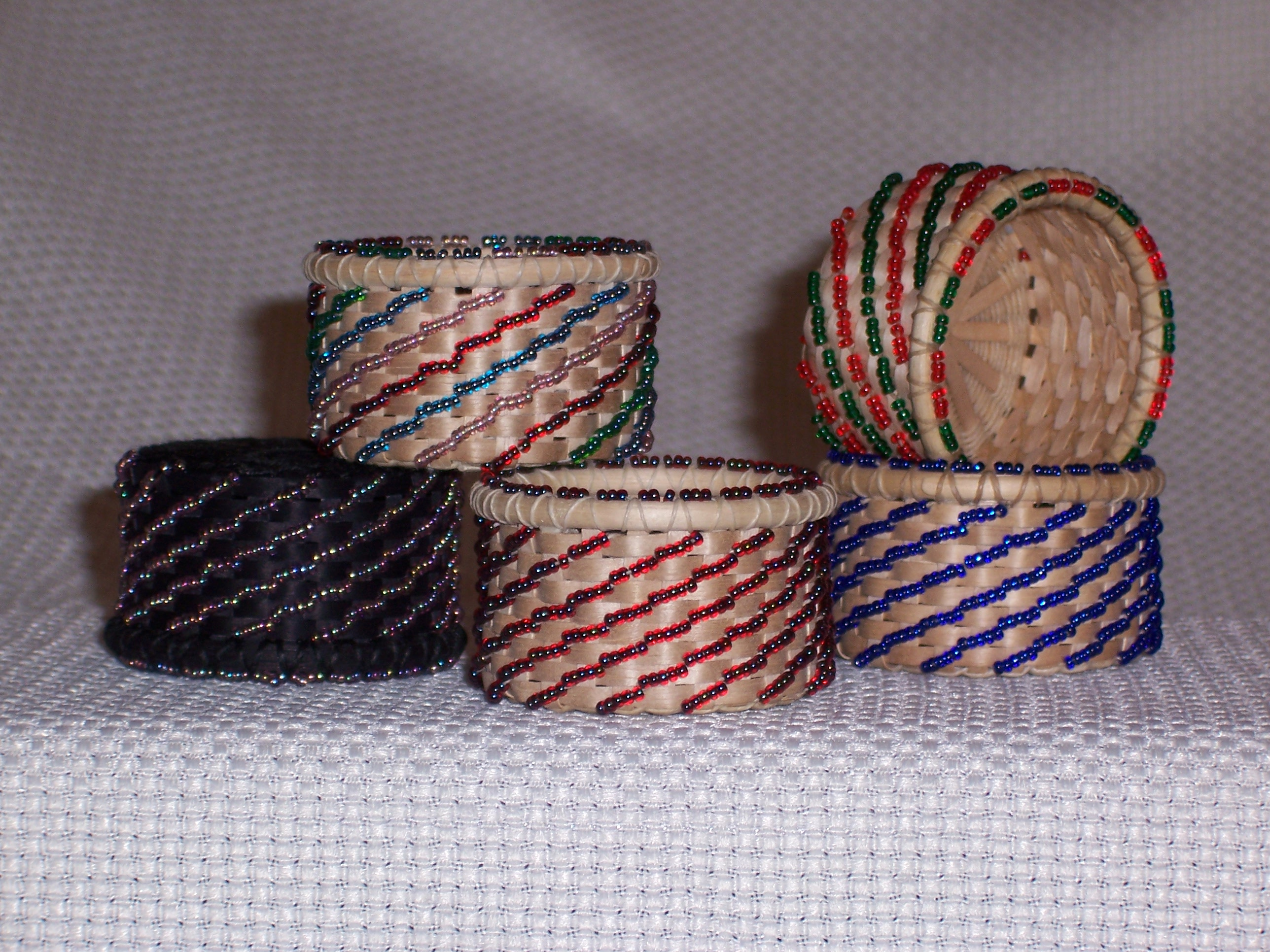 Beaded Ring Basket