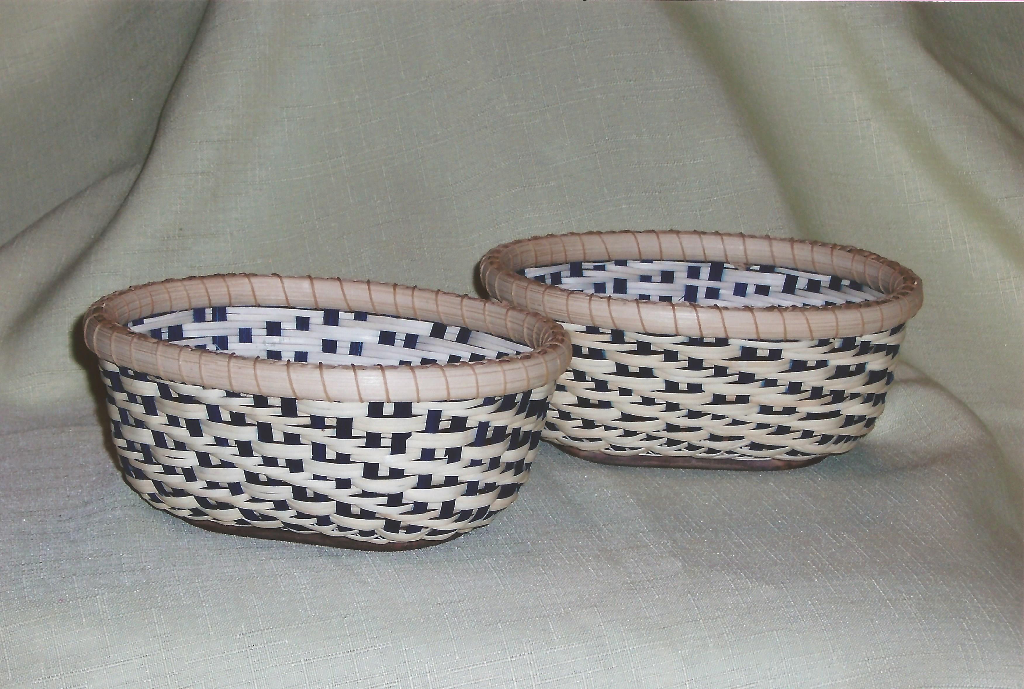 Twilled Tatting Basket