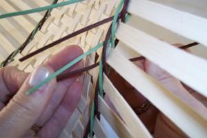 tightening the lock