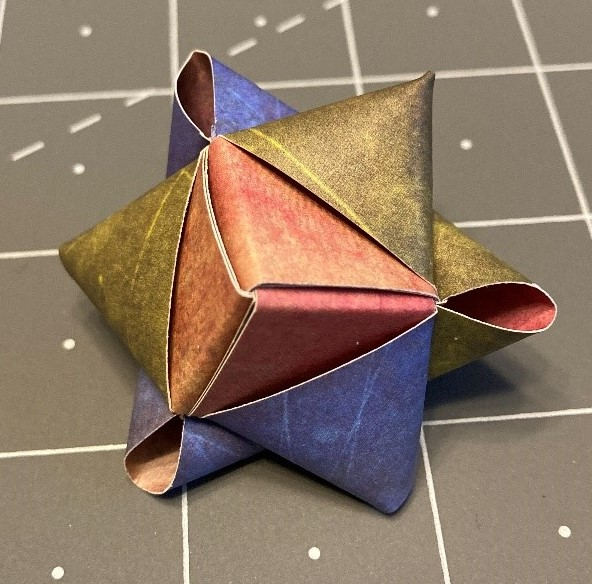 **Paper Stars Tutorial **January 13 a ZOOM weaving Event